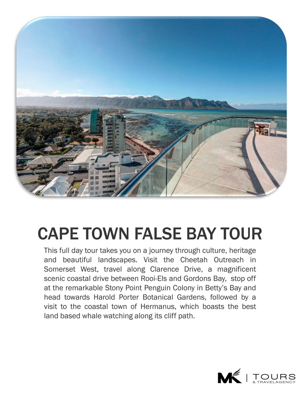CAPE TOWN FALSE BAY TOUR