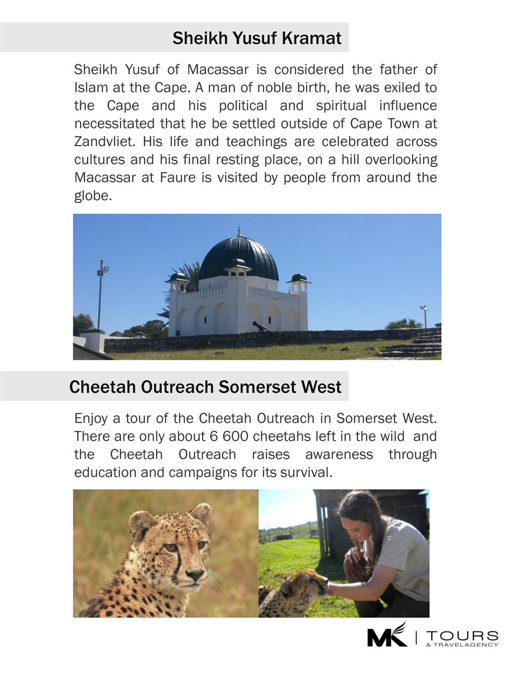 Kramat & Cheetah Outreach